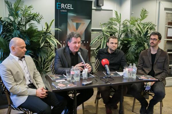 Kesselyák Gergely, Ókovács Szilveszter, Anger Ferenc és Zöldy Z Gergely (fotó: Magyar Állami Operaház)