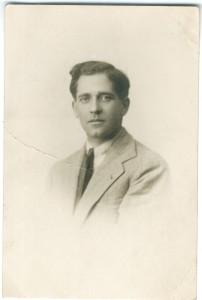 A fiatal Sergio Failoni (Failoni Donatella gyűjteményéből)