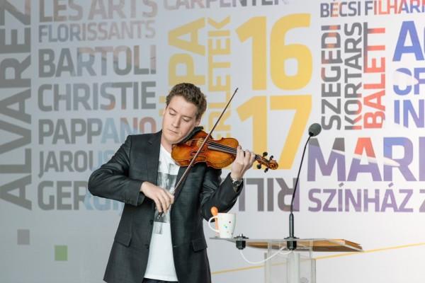 Baráti Kristóf (fotó: Posztós János / Müpa)