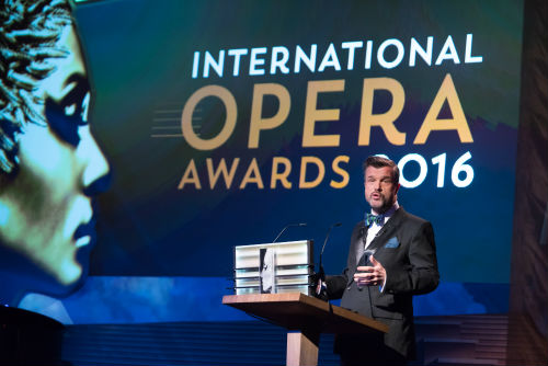 A díjátadó (fotó: Opera Awards)