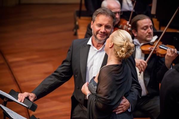 Diana Damrau és Nicolas Testé (fotó: Posztós János / Müpa)