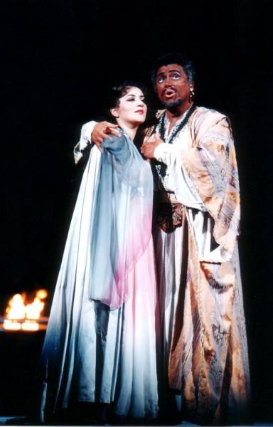 Otello Lukács Gyöngyivel (fotó: Mezey Béla)