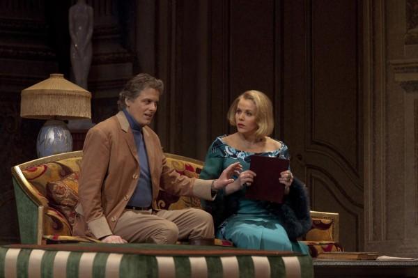 Morten Frank Larsen (a gróf) és Renée Fleming (a grófnő)