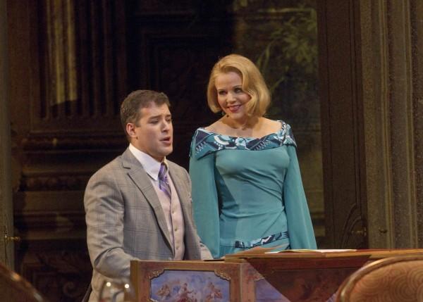 Joseph Kaiser (Flamand) és Renée Fleming (Madeleine) (fotó: Ken Howard)