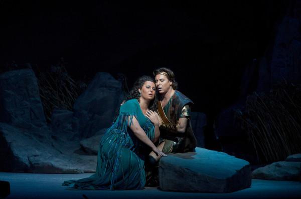 Aida és Radames: Ljudmila Monasztirszka és Roberto Alagna