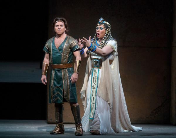 Amneris és Radames: Olga Borogyina és Roberto Alagna