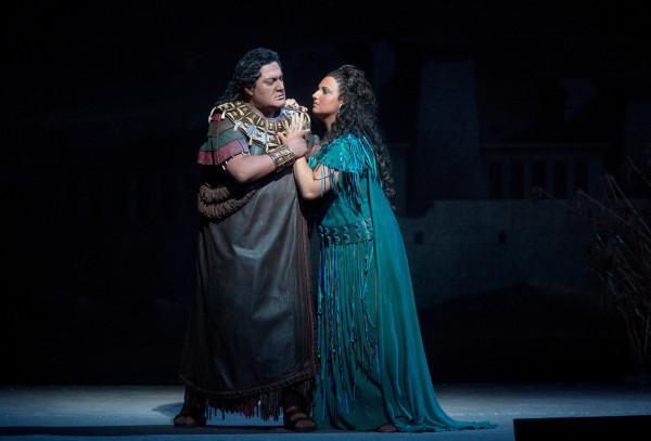 Aida és Amonasro: Ljudmila Monasztirszka és George Gagnidze