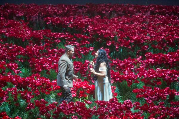 Anita Rahvelisvili és Szergej Szemiskur az Igor hercegben (fotó: Cory Weaver)