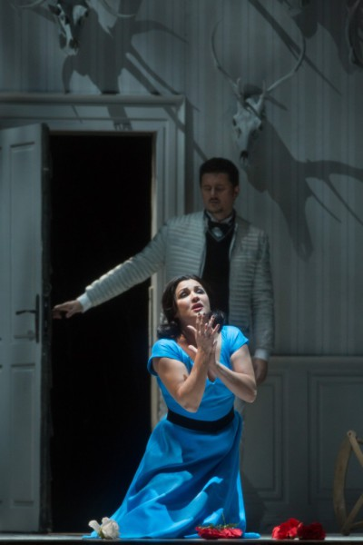 Jolanta és Vaudémont: Anna Netrebko és Piotr Beczała (fotó: Marty Sohl / Metropolitan Opera)
