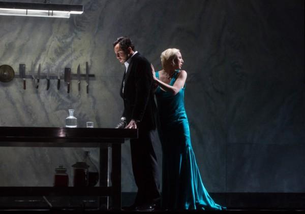 Judit és Kékszakállú: Nadja Michael és Mihail Petrenko (fotó: Marty Sohl / Metropolitan Opera)