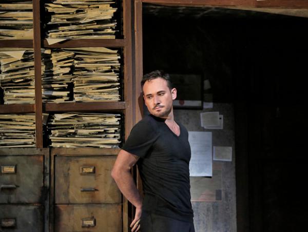 Zurga: Mariusz Kwiecień (fotó: Ken Howard / Metropolitan Opera)