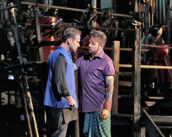 Zurga és Nadir: Mariusz Kwiecień és Matthew Polenzani (fotó: Ken Howard / Metropolitan Opera)