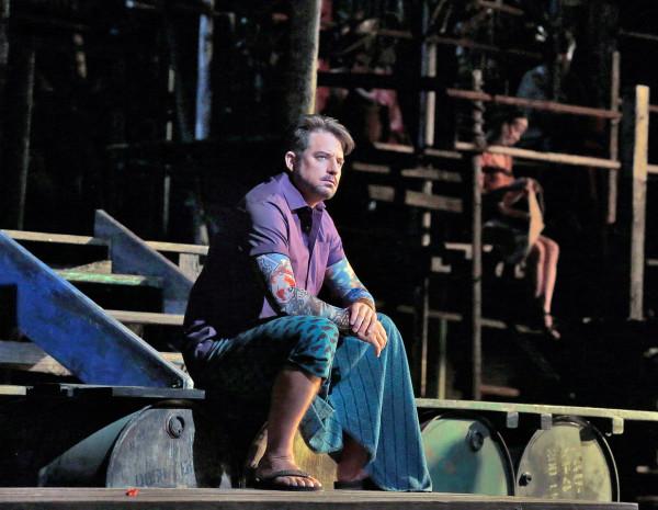 Nadir: Matthew Polenzani (fotó: Ken Howard / Metropolitan Opera)