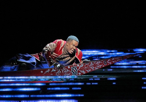 Jaufré Rudel: Eric Owens (fotó: Ken Howard / Metropolitan Opera)