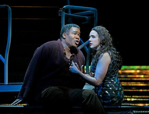 Clémence és Jaufré Rudel: Susanna Phillips és Erci Owens (fotó: Ken Howard / Metropolitan Opera)
