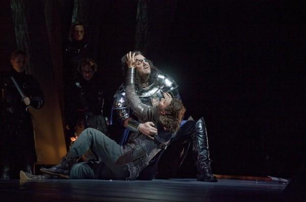 Siegmund és Wotan: Jonas Kaufmann és Bryn Terfel (fotó: Ken Howard)