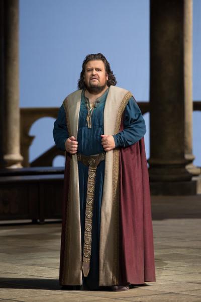 Tannhäuser: Johan Botha (fotó: Marty Sohl / Metropolitan Opera)