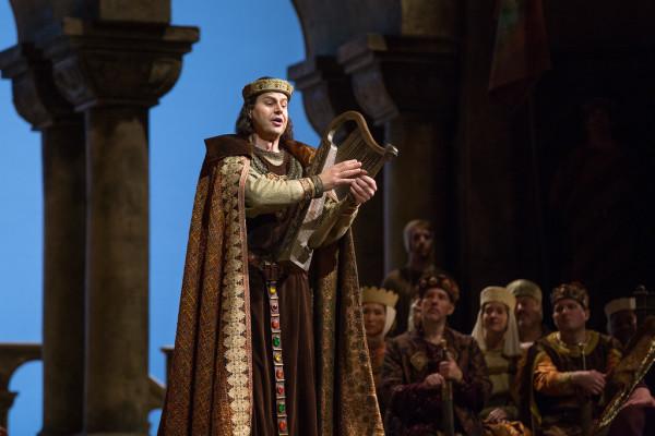 Wolfram: Peter Mattei (fotó: Marty Sohl / Metropolitan Opera)
