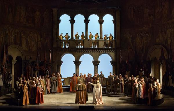 Jelenet a II. felvonásból (fotó: Marty Sohl / Metropolitan Opera)