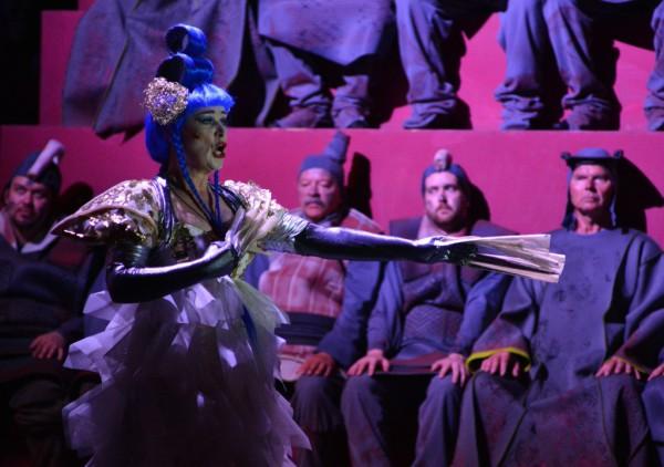 Turandot: Maida Hundeling (fotó: Gálos Mihály Samu / Bartók Plusz)