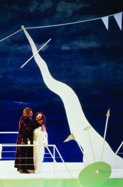 Trisztán és Izolda: Siegfried Jerusalem és Waltraud Meier 1998-ban