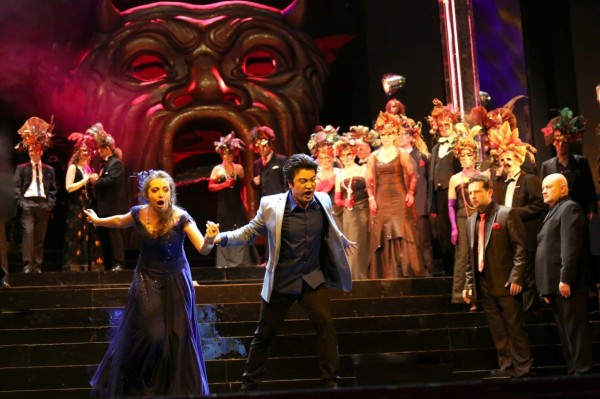 Violetta és Alfred: Anna Lichorowicz és Sang-Jun Lee