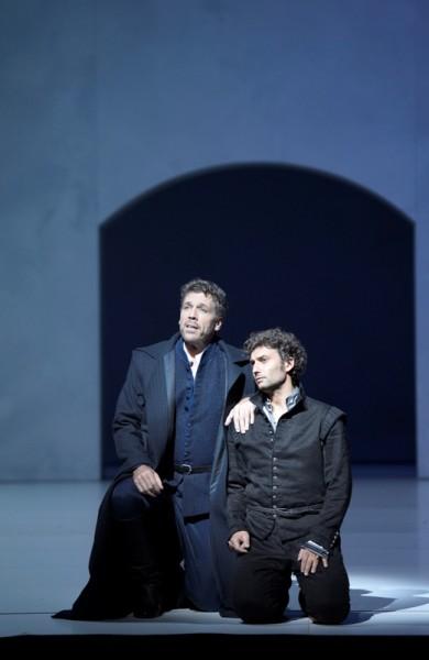 Posa és Carlos: Thomas Hampson és Jonas Kaufmann (fotó: Monika Rittershaus)