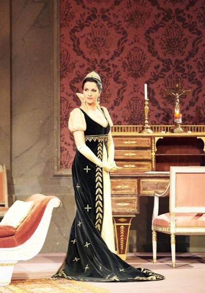 Tosca: Angela Gheorghiu (fotó: Michael Pöhn)