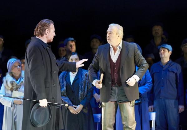 Iain Paterson (Balstrode), Herbert Lippert (Peter Grimes) (fotó: Michael Pöhn)