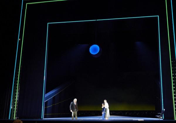 Az előadás színpadképe (fotó: Michael Pöhn)