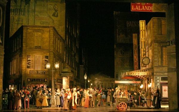 A II. felvonás színpadképe (fotó: Bajor Állami Operaház)