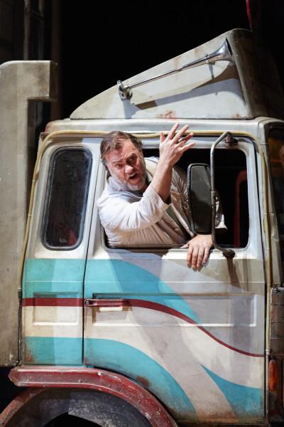 Dulcamara: Bryn Terfel (fotó: Mark Douet / Royal Opera House)