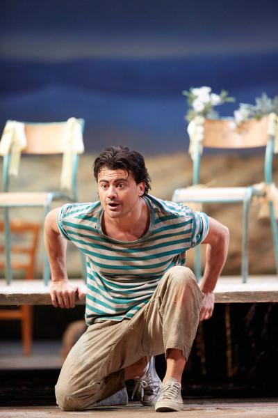 Nemorino: Vittorio Grigolo (fotó: Mark Douet / Royal Opera House)