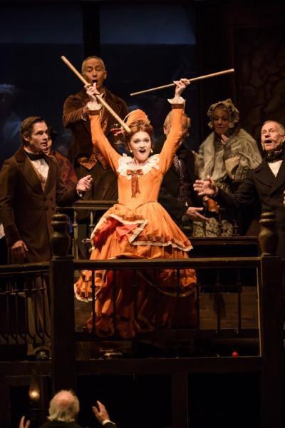 Musetta: Jekatyerina Bakanova (fotó: Bill Cooper / Royal Opera House)