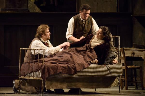 Lianna Haroutounian, Molnár Levente és Piotr Beczała (fotó: Bill Cooper / Royal Opera House)
