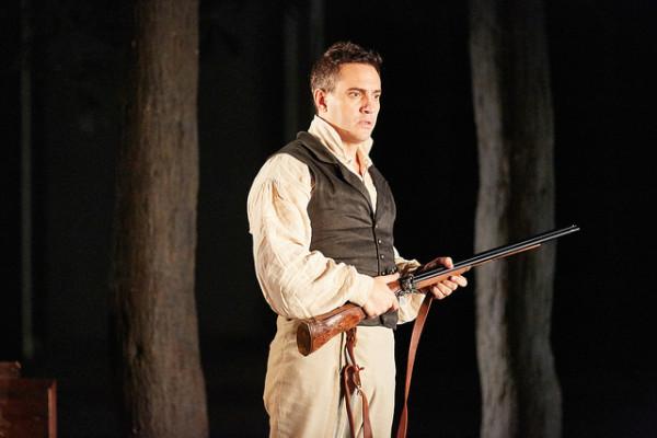 Figaro: Erwin Schrott (fotó: Mark Douet / Royal Opera House)