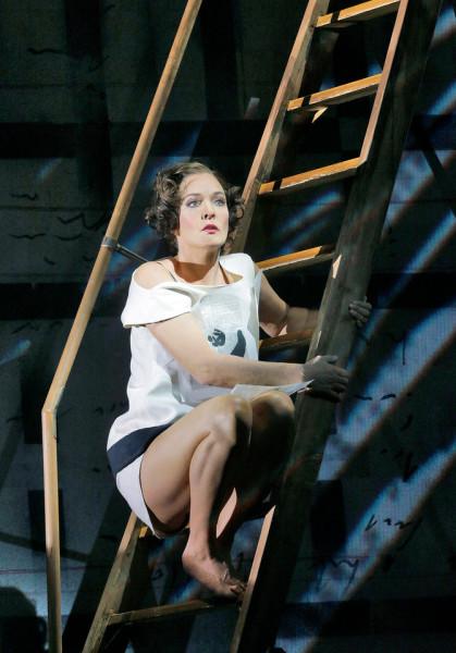 Lulu: Marlis Petersen (fotó: Ken Howard / Metropolitan Opera)
