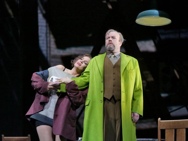 Lulu és Jack: Marlis Petersen és Johan Reuter (fotó: Ken Howard / Metropolitan Opera)