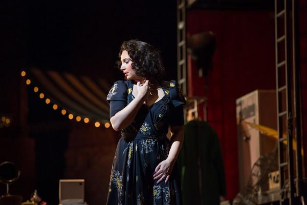 Nedda: Barbara Frittoli (fotó: Marty Sohl / Metropolitan Opera)