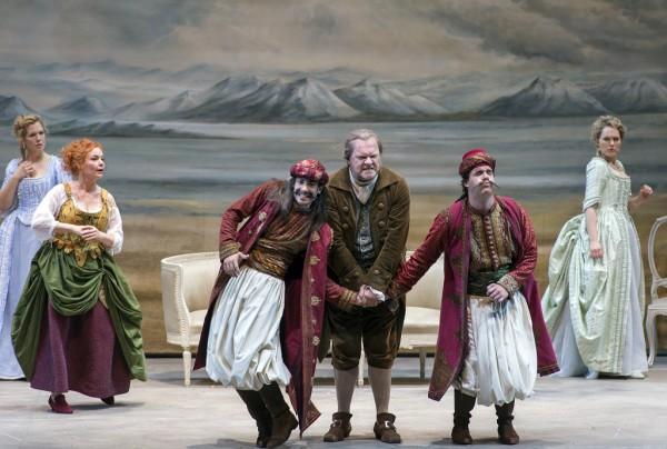 Jelenet az előadásból (fotó: Ruth Walz / Salzburger Festspiele)