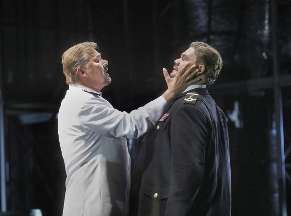 Marke és Trisztán: René Pape és Stuart Skelton (fotó: Ken Howard / Metropolitan Opera)