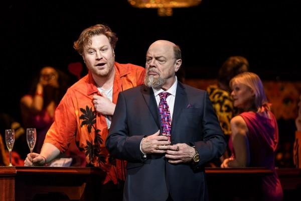 Lescaut és Géronte: Molnár Levente és Eric Halfvarson (fotó: Bill Cooper / Royal Opera House)
