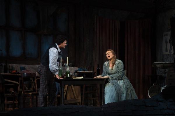 Mimi és Rodolphe: Kristine Opolais és Vittorio Grigolo (fotó: Marty Sohl)