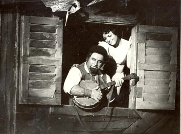 Kukely Júlia és Sólyom-Nagy Sándor az 1981-es előadásban