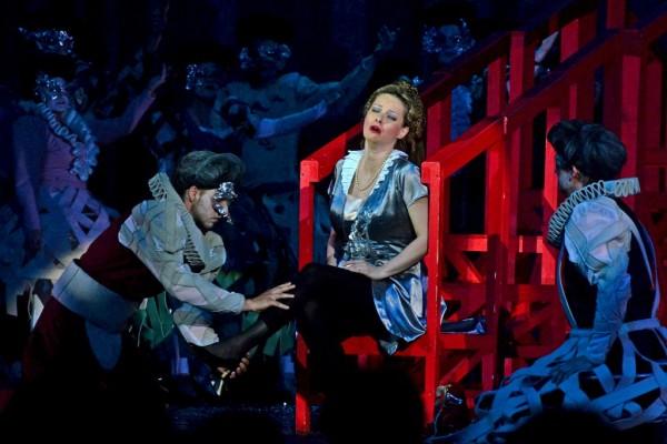 Jelenet Massenet Don Quichotte c. operájából