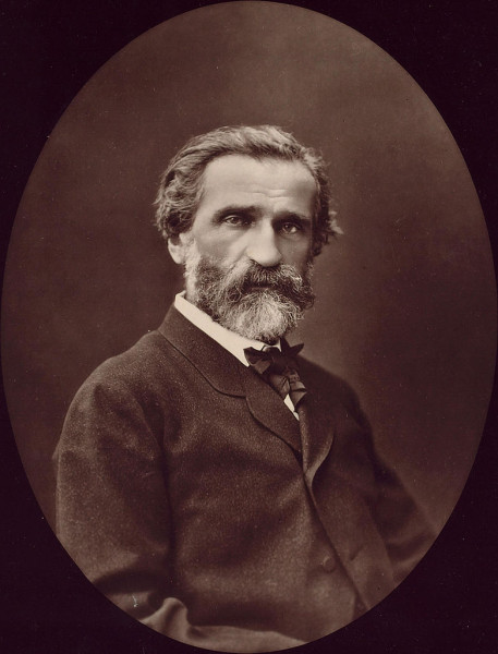 Giuseppe Verdi. Étienne Carjat felvétele 1976-ból