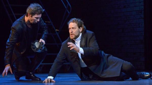 Don Giovanni és a kormányzó: Haja Zsolt és Cser Krisztián (fotó: Éder Vera)