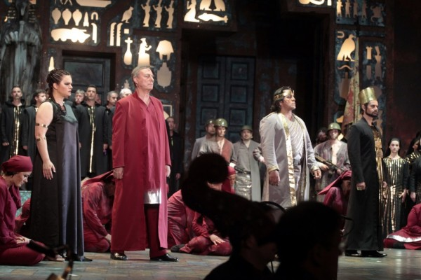 Jelenet Verdi Aidájából (fotó: Gálos Mihály Samu / Bartók Plusz Miskolci Operafesztivál)