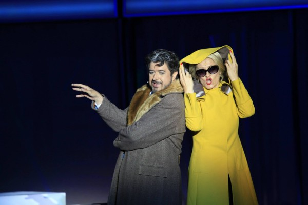 Amelia és Gustavo: Rálik Szilvia és László Boldizsár (fotó: Dusha Béla / Szegedi Szabadtéri Játékok)