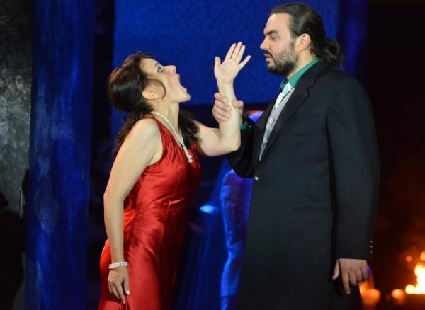 Leonóra és Luna: Létay Kiss Gabriella és Alexandru Aghenie (fotó: Gálos Mihály Samu / Bartók Plusz)